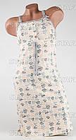 Женская ночная сорочка Турция. MORAL 342-3 XL. Размер 48-50.