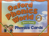 Oxford Phonics World 2. Phonics Cards. Short Vowels
