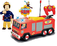 Машинка Пожарная на радиоуправлении Пожарник Сэм Dickie 3099612
