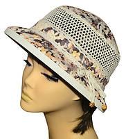 Шляпа женская Парижанка х/б матиола беж, фото 1