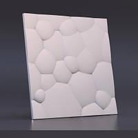 """Декоративная 3Д панель """"Пузыри"""". 3d панель гипсовая."""