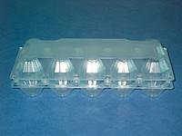 Пластиковая упаковка для яиц 10шт ПС-3610, 246*102*65 (400 шт)