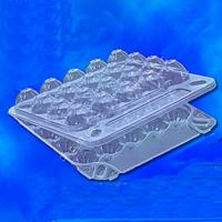 Упаковка для перепелиных яиц 20шт ПС-111, 155*150*40 (600 шт)