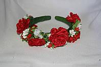 Веночек для волос Цветы розы