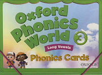 Oxford Phonics World 3. Phonics Cards. Long Vowels