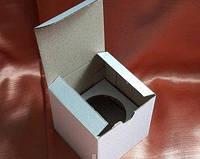Коробка белая для одного капкейка