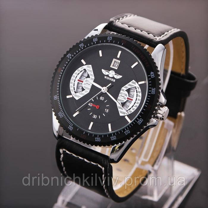 Часы Winner черные (Код 05)