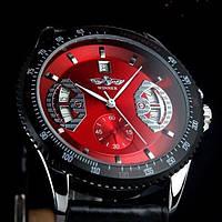 Мужские часы Winner красный (Код 05), фото 1