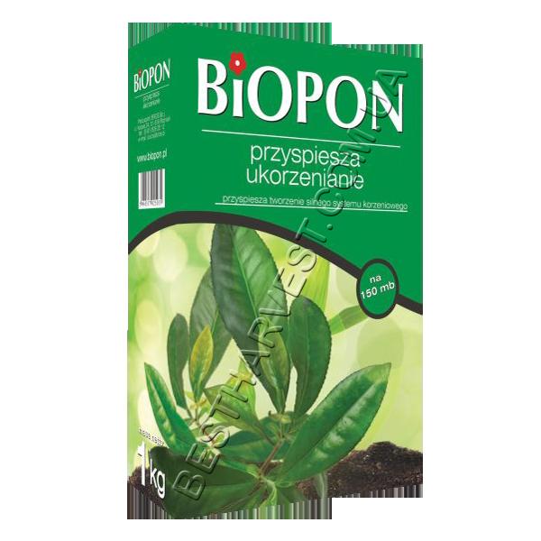 Биопон (Biopon) удобрение для укрепления корней 1кг Гранулированное комплексное