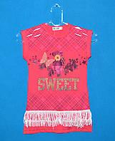 Детские футболки для девочек 5-8 лет, Детские футболки от производителя