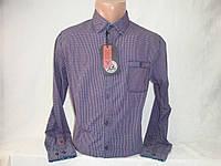 Мужская рубашка с длинным рукавом в клетку YChromosome, фото 1