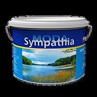Краска глубокоматовая для потолков с замедленным временем высыхания Sympathia Eskaro 9,5 л