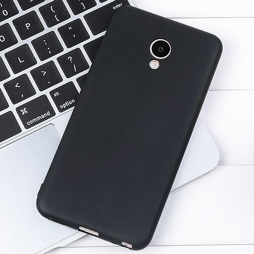 Чехол для Meizu M5 черный, бампер, накладка, чохол, силиконовый, силіконовий