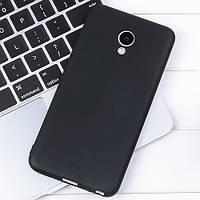 Чехол для Meizu M5 черный, бампер, накладка, чохол, силиконовый, силіконовий, фото 1