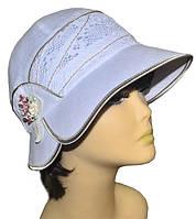 Шляпа женская Эстер белый лен