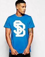 Мужская футболка Nike SB синяя