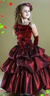 Платье для Принцессы из тафты