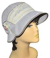 Шляпа женская Эстер темный лен