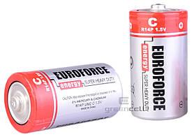 Батарейка Euroforce Energy Super Heavy Duty R14