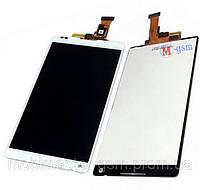 Дисплейный модуль Sony Xperia ZL C6502, C6503  white