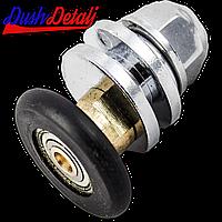 Ролик душевой кабины металлический, эксцентриковый, латунный  ( А010 )