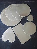 Подложка для торта ВКМ(золото-серебро) Д240
