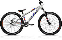 "Велосипед 26"" DIRT COMP 2013 raw/blue/orange RH32 (134X0009) Ghost"