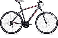 """Велосипед 28"""" Cross1300 2014 grey/black/red RH53 (14CR5503) Ghost"""