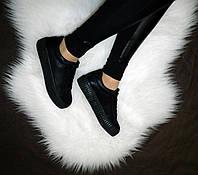 Стильные женские криперы черного цвета отличного качества