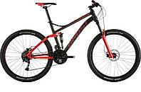 "Велосипед 27,5"" Kato FS 2 2015 black/red/grey L (15AS1504) Ghost"