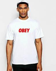 Мужская футболка OBEY белая