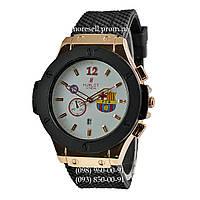 Hublot Big Bang FC Barcelona Quartz Black-Gold-Black-White