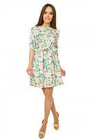 Платье с подъюбником из фатина р. S;М сакура