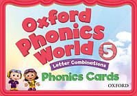 Oxford Phonics World 5. Phonics Cards. Letter Combinations