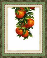 Набор для вышивания крестом Crystal Art Солнечные апельсины