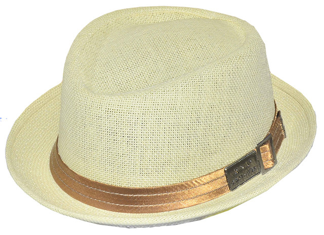 Шляпа мужская Брабус солома