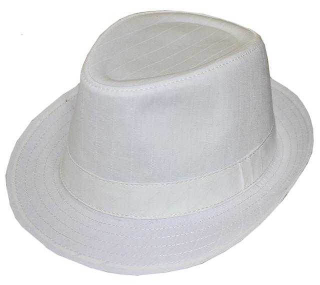 Мужская шляпа Бруно молоко
