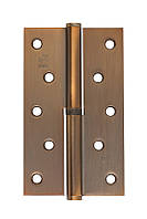 Петля стальная Gavroche gr 125*75*2.5мм B1 L macc (медь)
