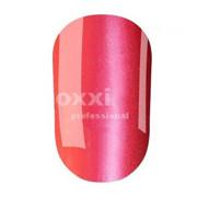 """Гель лак Oxxi """"Кошачий глаз"""" №082 (красно-розовый магнитный),8 мл"""