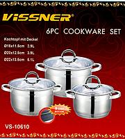 Набор посуды Vissner VS 10610 (6 предметов), фото 1