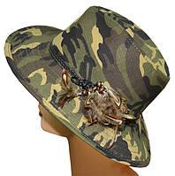 Шляпа мужская Рейнджер отделка темный камуфляж