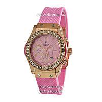 Hublot Big Bang Crystal Women Pink-Gold-Pink