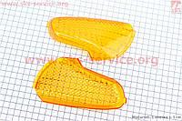 "Suzuki LETS-I/II/III ""стекло""- поворотов задних к-кт 2шт, желтые"