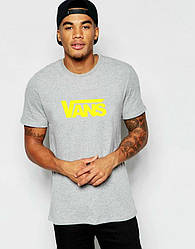 Мужская футболка Vans серая