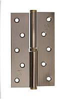 Петля стальная Gavroche gr 125*75*2.5мм B1 L ab (античная бронза)