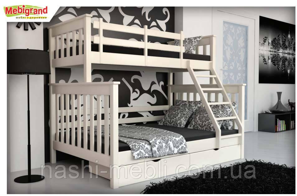 Двоярусне ліжко Скандинавія МГ.