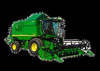 Установка кондиционера на комбайн трактор