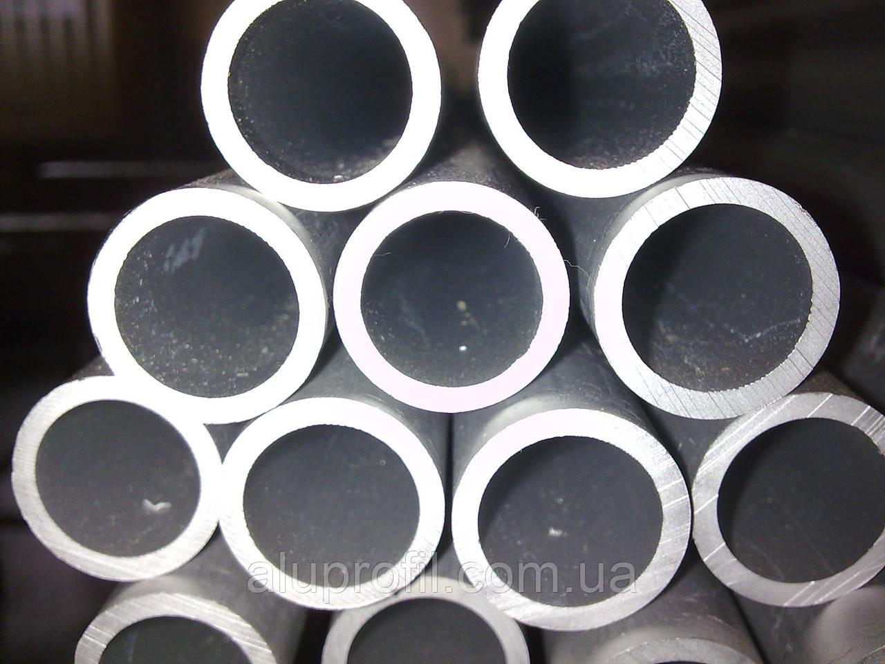 Алюминиевый профиль — труба алюминиевая круглая 18х1,5 Б/П, фото 1