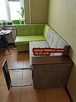 Кухонний куточок розкладний з баром в подлоке, фото 1