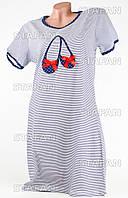 Женская ночная сорочка Турция. MORAL 01-12 M. Размер 46-48.